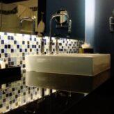 Panelákové koupelny: inspirace